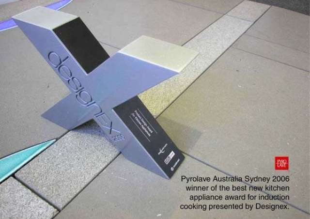 Award for new : product concept in Australia